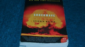 A bomb on Hiroshima, a book that tells the story: Shockwave: Countdown to Hiroshima