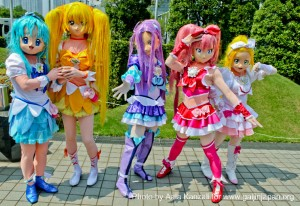 Comiket 80 - Tokyo Big Sight cosplayer costume, cosplayer