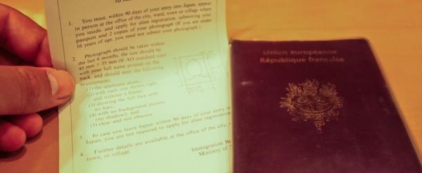 Japanese Alien Registration Card : ça y je l'ai