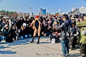 comiket 81 tokyo japan - girl & photographs