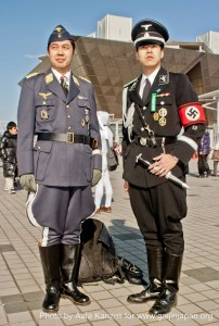 comiket 81 tokyo japan - nazis