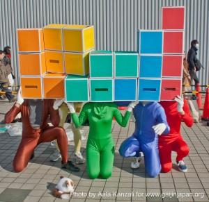 comiket 81 tokyo japan - tetris