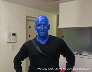 halloween in japan blue man 300x236 Halloween in Japan: how I became a Blue Man