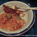 hannibal restaurant harajuku tokyo - couscous
