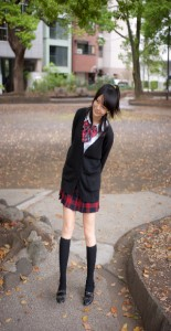 interview cosplayer - coh - school girl