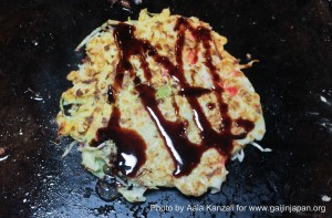 leafcup yukata de yakatabune party - august 28 2011 - okonomiyaki