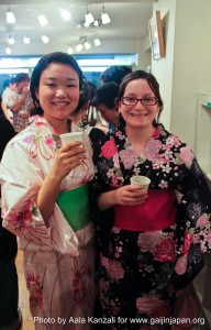 leafcup yukata international party july 25 2011 japanese gaijin 192x300 Leafcup Yukata International Party: How I got stopped by a policeman