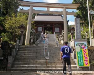 mt mitake mt hinode hiking & onsen - aala @ shrine