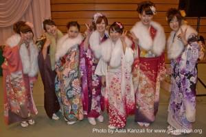 seijin no hi - coming of age - jour des adultes - chisaki & friends