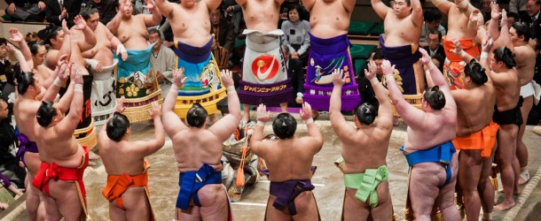 A day at the Ryogoku Sumo Grand Tournament in Tokyo