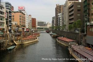 yakatabune on tokyo river