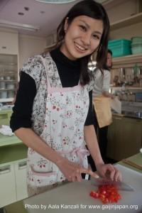 aki noguchi, cooking lessons