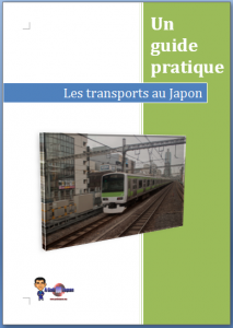 Couverture guide de transport au Japon et à Tokyo gratuit