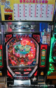 pachinko machine tokyo