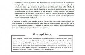 extrait 1 guide devenir professeur de français au Japon