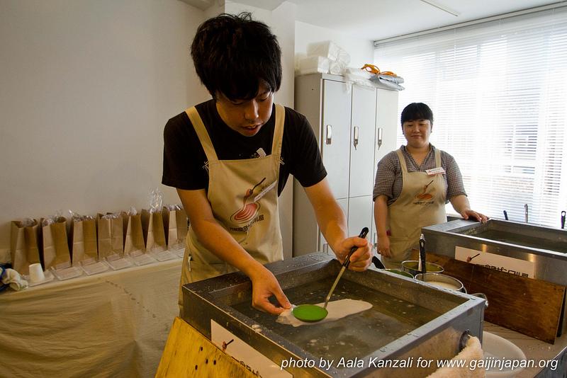 food sample japon faux plats en cire - fabrication