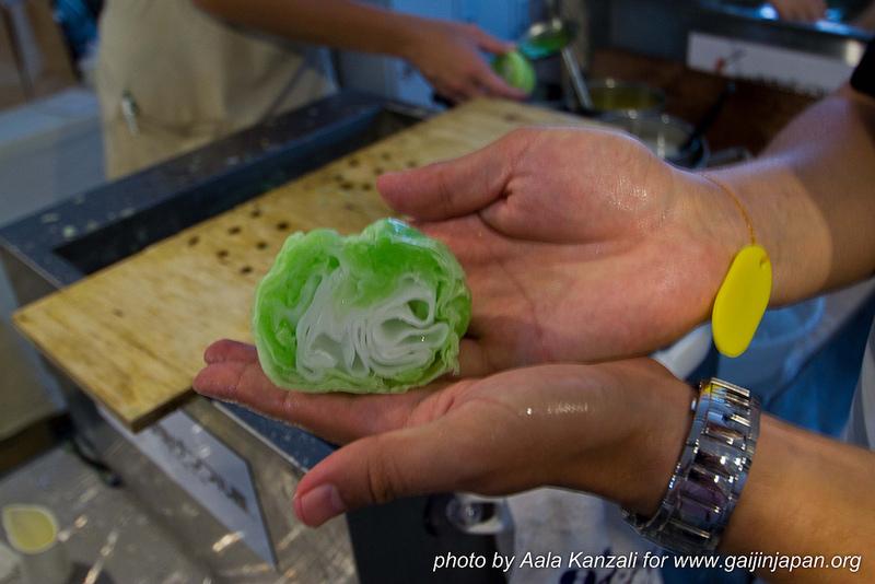 food sample japon faux plats en cire - fausse salade