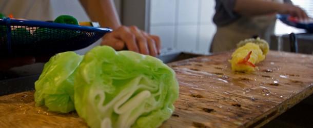 J'ai appris à cuisiner japonais …. en cire