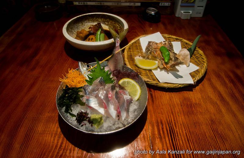 Zauo Shinjuku Tokyo Japon - plats de poissons