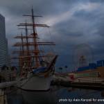 yokohama safari -david michaud - 25 mai 2013 - Japon un bateau dans la ville
