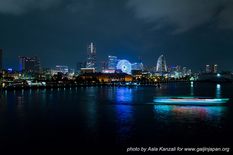 yokohama safari -david michaud - 25 mai 2013 - Japon vue de nuit sur Yokohama