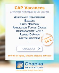 GARANTIES - CAP VACANCES