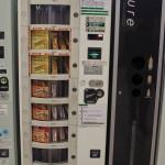 distributeur de barres énergisantes au Japon