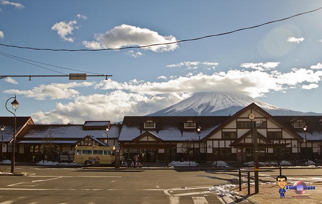 Mont Fuji - Kawaguchiko - station de train kawaguchiko