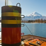 Mont Fuji - Kawaguchiko - sur le bateau