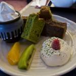 kyoto - gâteaux maccha