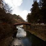 Tokyo Nikko Toshogu à pieds - le pont