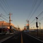 Tokyo Nikko Toshogu à pieds - nikko kaido levé de soleil