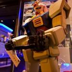 Gundam Café Akihabara Tokyo - doigt