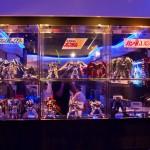 Gundam Café Akihabara Tokyo - minis robots figurines