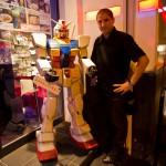 Gundam Café Akihabara Tokyo - robot