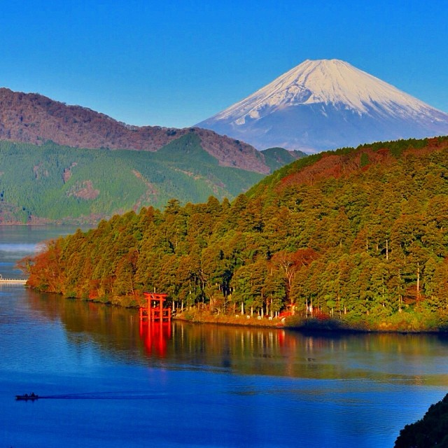 Mont Fuji - photo Phantastic420 sur Instagram