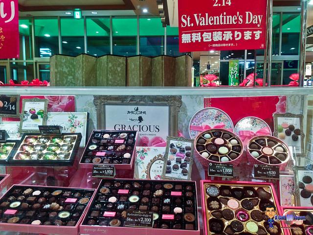 Saint Valentin au Japon chocolat