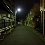 Yamanote Walk 8 février 2014 - rue de nuit