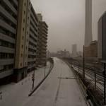 Yamanote Walk 8 février 2014 - tokyo sous la neige