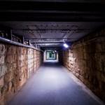 Yamanote Walk 8 février 2014 - tunnel de nuit