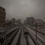 Yamanote Walk 8 février 2014 - yamanote line sous la neige