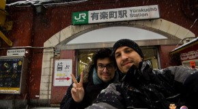 Yamanote Line à pieds : de nuit ou sous la neige
