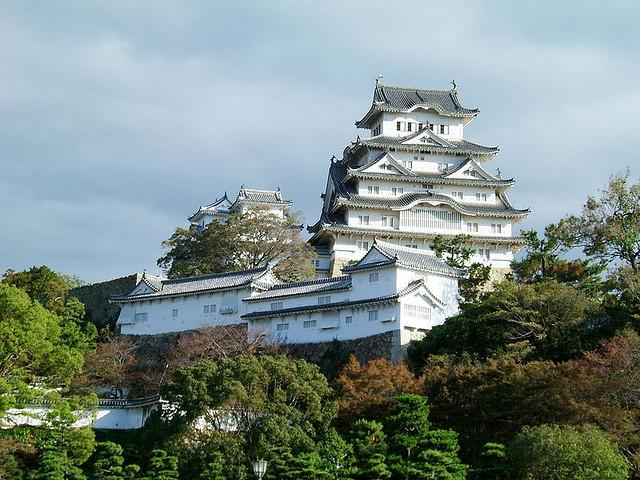 Château Himeji - photo par Toby Oxborrow sur flickr