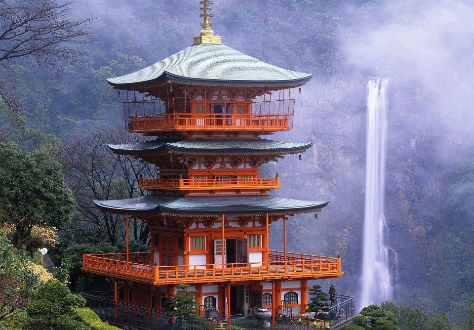 Chaîne de montagnes Kii - photo par eauseren.tumblr