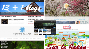 Les  13 + 1 blogs sur le Japon à suivre absolument
