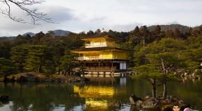 Kinkaku-ji le temple d'or à Kyoto, Japon