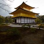 kinkaku-ji à Kyoto pavillon d'or - temple zen