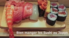 Conseils pour savoir comment bien manger les sushi au Japon