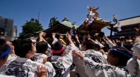Sanja Matsuri à Asakusa – Tokyo : les Yakuza sont de sortie