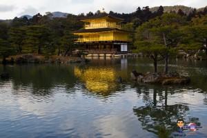 partir au Japon pour voir le Kinkakuji
